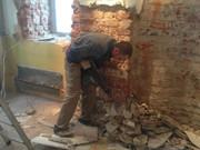 Демонтаж штукатурки в Воронеже,  демонтировать штукатурку Воронежская область